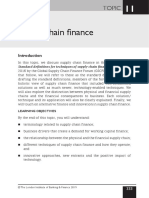 Topic 11 Supply Chain Finance