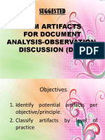 SUGGESTED ARTIFACTS sbm.pptx