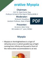 Degenerative Myopia