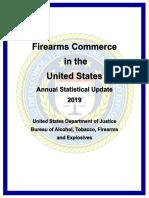 Firearms Commerce 2019
