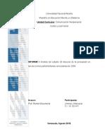 Análisis del Discurso de la persuasión en las elecciones parlamentarias venezolanas de 2005.