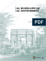 Physical Modelling of Musical Instruments