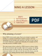 PLANNING A LESSON TEFL.pptx