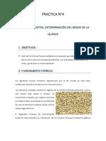 QUINUA REQUISITOS, DETERMINACIÓN DEL GRADO DE LA QUINUA.docx