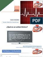 AGENTES ANTIARRITMICOS- BRADIARRITMIAS 07-10-19.pptx