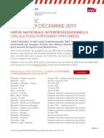 Les perturbations sur le réseau SNCF ce lundi en Paca