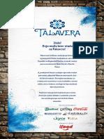 Cardapio Talavera WEB 2019