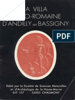 SSNA de La Haute-Marne - La Villa Gallo-romaine d'Andilly en Bassigny