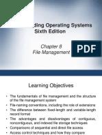 Chapter 8 - File Management