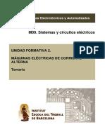 UF2. Maquinas Electricas v. 2.0 M09-EEA0 2015-16