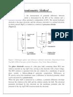 Potentiometric Method