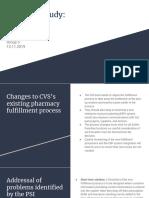 CVS Pharmacy Case Analysis