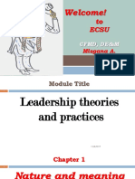 Leadership Ppt Chapter 1