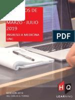 EJERCICIOS DE EXAMEN TURNO MARZO Y JULIO 2019 - INGRESO A MEDICINA UNC - HQ APOYO UNIVERSITARIO.pdf