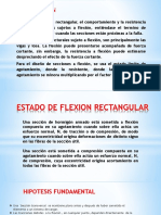 Estado de Flexion Rectangular