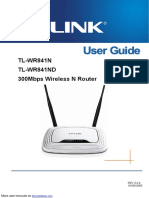 3000Mbs Wireless N Router TL-WR841ND.pdf