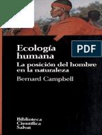 Campbell Bernard - Ecologia Humana.pdf