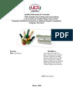 Alimentacion y nutricion. trabajo - copia.docx