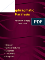 Diaphragmatic paralysis.ppt