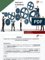 Semana 2 Administracion y Organizacion de Empresas -Luis Berger