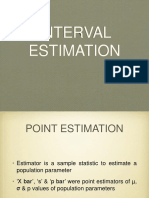 Interval estimation.ppt