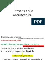 PATRONES EN LA ARQUITECTURA.pptx