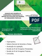 Virginia Arantes Ferreira Avanços Forrageiras