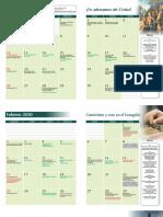 KTK Calendario 2020
