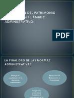 Regulación Del Patrimonio Cultural en El Ámbito Administrativo