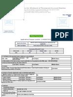 PAN Application - TSP Enterprise