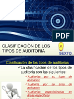 1.2 Tipos de Auditoria