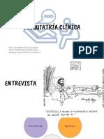 Historia clínica Psiquiatria