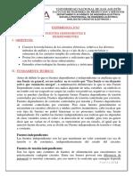 Informe de Fuentes Dependientes e Independientes