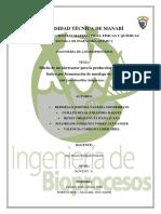 PROYECTO BIOPROCESOS- 1PARCIAL