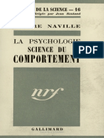 La psychologie science du comportement