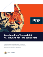 Benchmarking TimescaleDB vs. InfluxDB for Time-Series Data