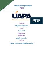 Tarea Viii de Etiqueta y Protocolo - Copia 1