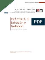 Práctica 3-Extrusión y Trefilado