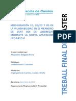Modelización 1D, 1D2D y 2D de la inundabilidad en el meandro de Sant Boi de Llobregat mediante la nueva aplicación Hec-Ras 5.0.pdf