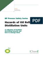 Hazards of Oil Refining Distillation Units