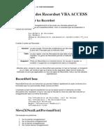 Utilisation des Recordset VBA ACCESS.pdf