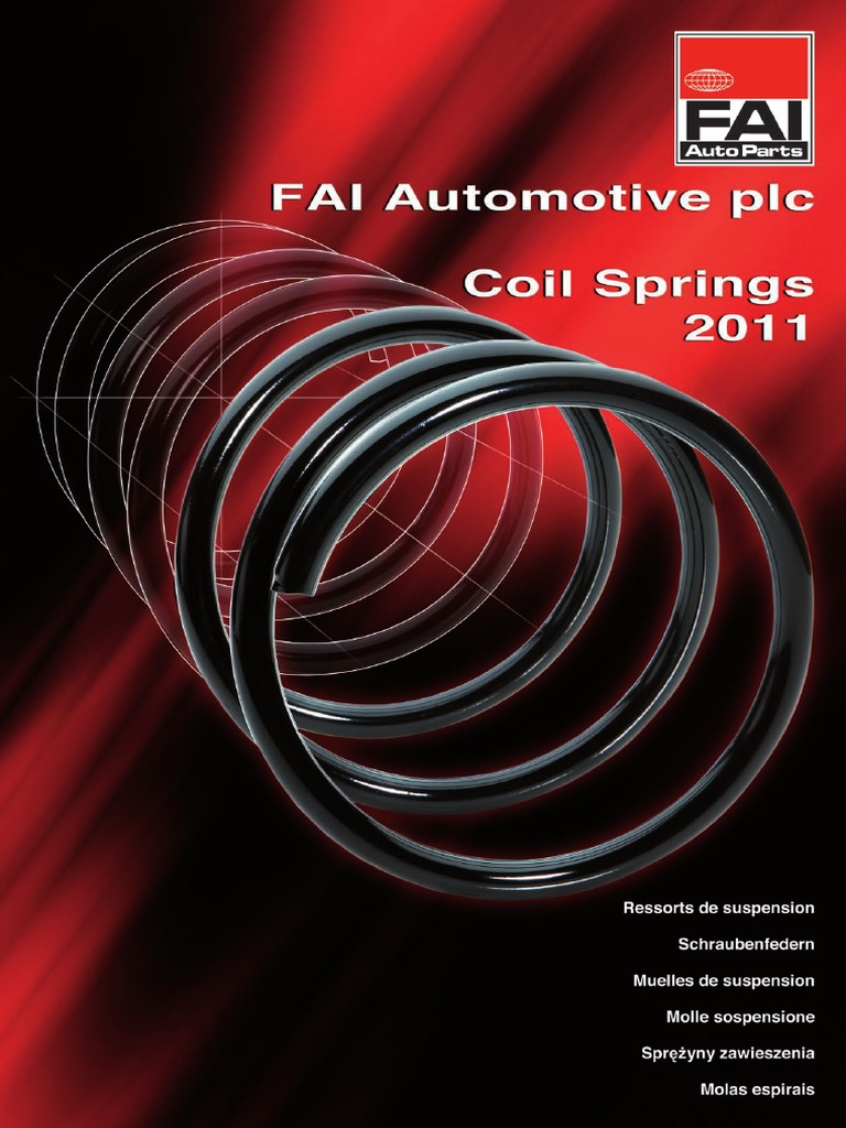 Rear Coil Spring SKODA FELICIA 1.3 1.6 1.9 96-01