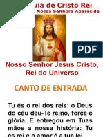 Slide Missa de Cristo Rei 2019