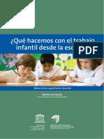 García 2009 -¿Qué Hacemos Con El Trabajo Infantil Desde La Escuela¿