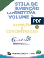 APOSTILA DE INTERVENÇÃO COGNITIVA VOLUME 2 ATENÇÃO E CONCENTRAÇÃO DANIELE GALVÃO-1.pdf