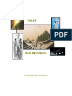 Star Wars - D6 - Tales of the old Republic.pdf