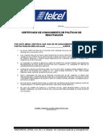 Certificado Conocimiento de Politicas de Reactivacion ABR 18.doc