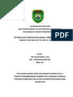 Optimalisasi Penggunaan Model Pembelajaran yang Variatif dan Inovatif di SDN 21 Pulau Rimau - Laporan Aktualisasi Tri Sulistiono