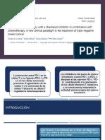 PD1 - PDL1 TNBC