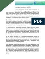 El Crecimiento Económico de Chile